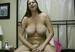 A girl dressed in dress sitting Realmer holes on the best granny porn webcam love